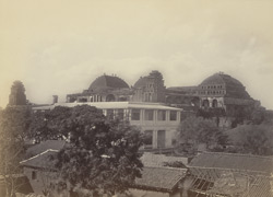 Madura Palace. General view from outside the walls